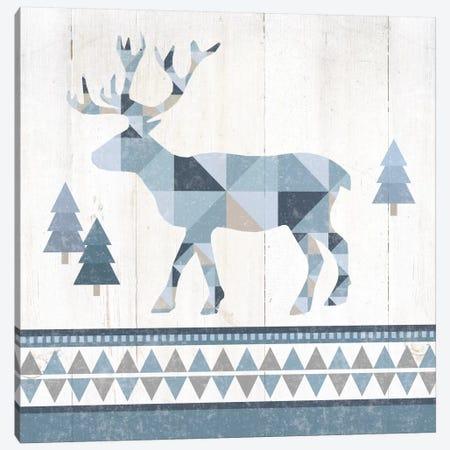 Nordic Geo Lodge Deer IV Canvas Print #WAC4519} by Wild Apple Portfolio Canvas Print