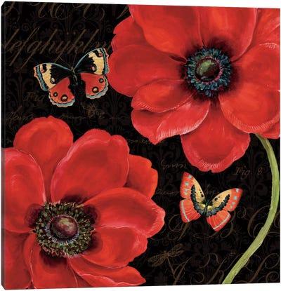 Petals and Wings III  Canvas Print #WAC451