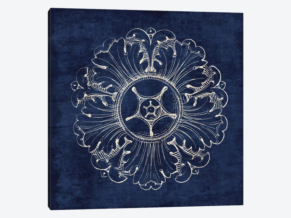 Rosette VI 1-piece Canvas Wall Art
