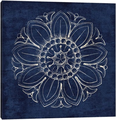 Rosette VII Canvas Art Print