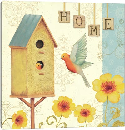Welcome Home I  Canvas Art Print