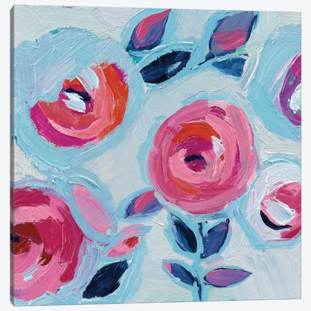 Wall Flower II Canvas Print #WAC4541} by Wild Apple Portfolio Canvas Art