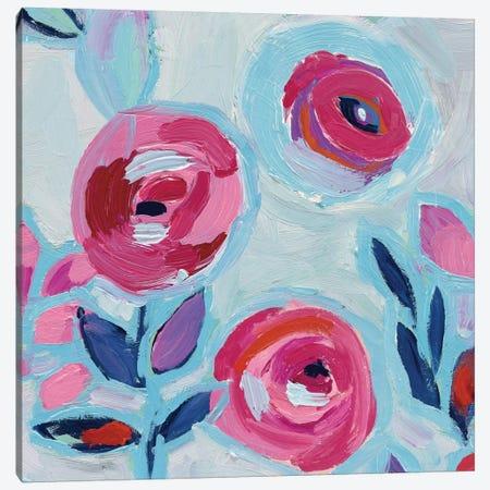 Wall Flower III Canvas Print #WAC4542} by Wild Apple Portfolio Canvas Art