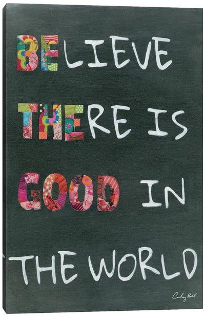 Believe Saying Canvas Print #WAC4549