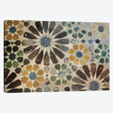 Alhambra Tile I Canvas Print #WAC4550} by Sue Schlabach Art Print