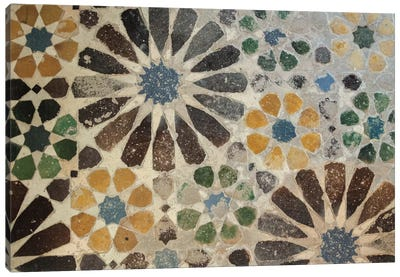 Alhambra Tile I Canvas Art Print