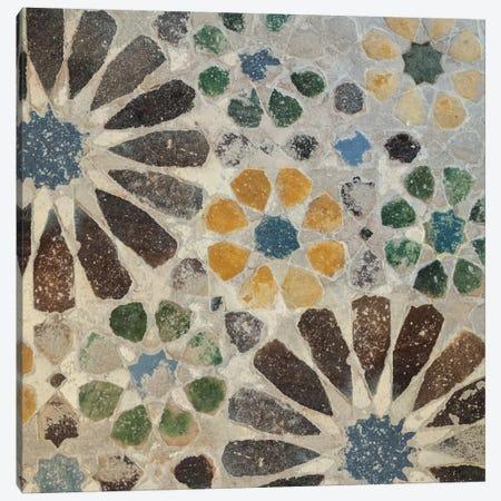 Alhambra Tile II Canvas Print #WAC4551} by Sue Schlabach Canvas Art Print
