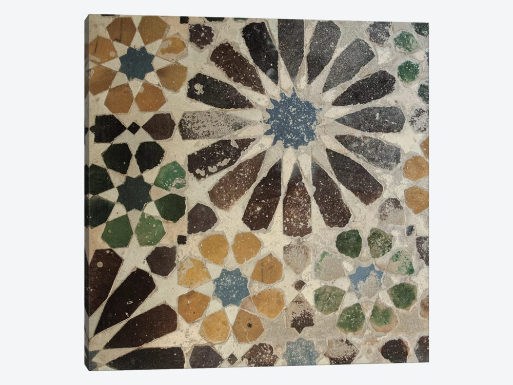Alhambra Tile III by Sue Schlabach 1-piece Canvas Print