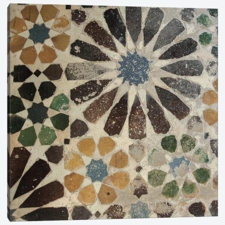 Alhambra Tile III Canvas Print #WAC4552} by Sue Schlabach Art Print