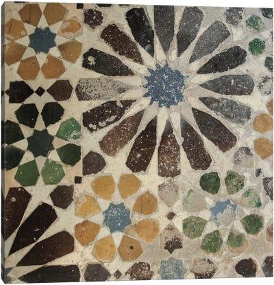 Alhambra Tile III Canvas Art Print