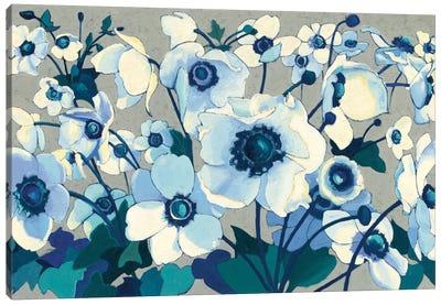 Anemones Japonaises I Canvas Art Print
