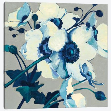Anemones Japonaises II Canvas Print #WAC4570} by Shirley Novak Canvas Print