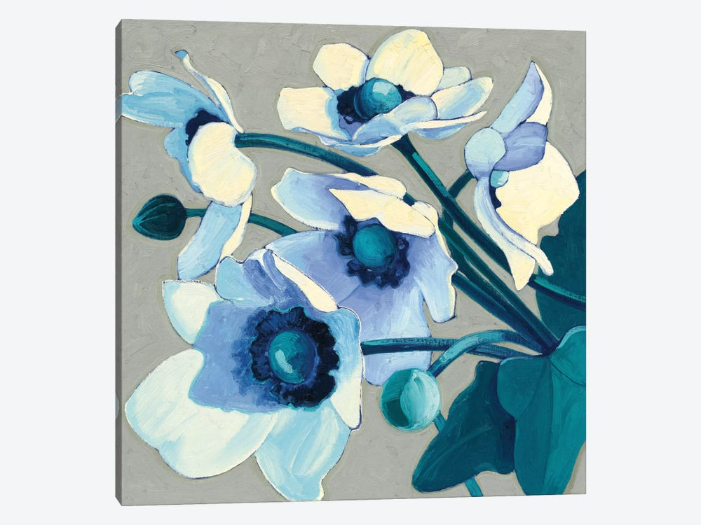 Anemones Japonaises III 1-piece Canvas Art