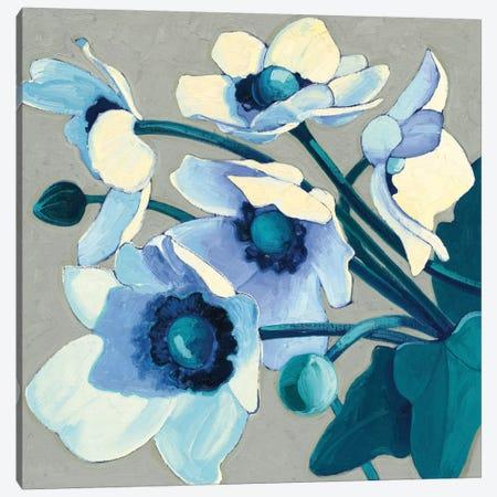 Anemones Japonaises III Canvas Print #WAC4571} by Shirley Novak Canvas Art Print