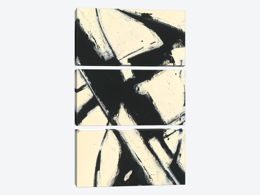 Expression Abstract I by Shirley Novak 3-piece Canvas Wall Art
