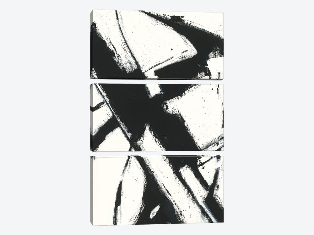 Expression Abstract I.A by Shirley Novak 3-piece Canvas Print