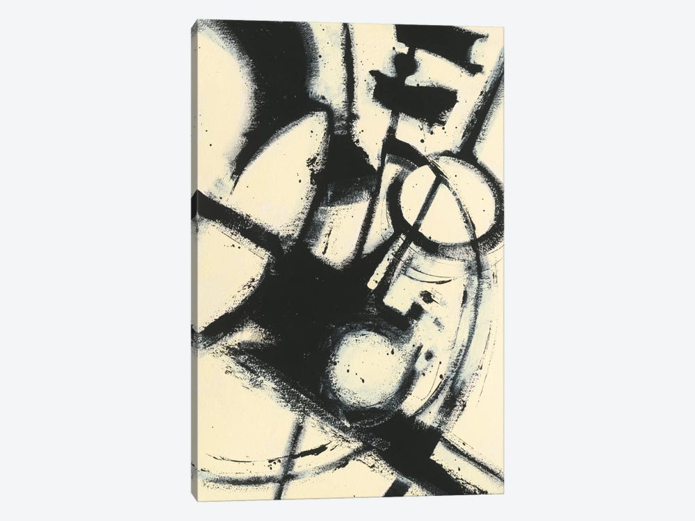 Expression Abstract II by Shirley Novak 1-piece Canvas Art