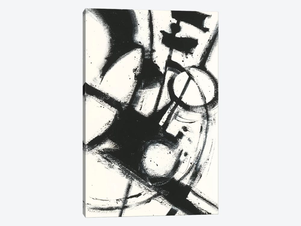 Expression Abstract II.A by Shirley Novak 1-piece Art Print