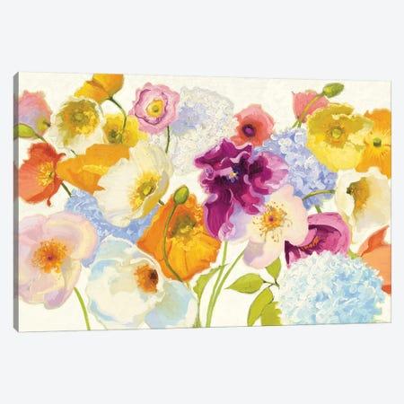 For Paris Canvas Print #WAC4587} by Shirley Novak Art Print