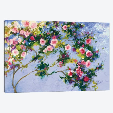 Inspiration (A Homage to Claude Monet) Canvas Print #WAC4590} by Shirley Novak Canvas Print