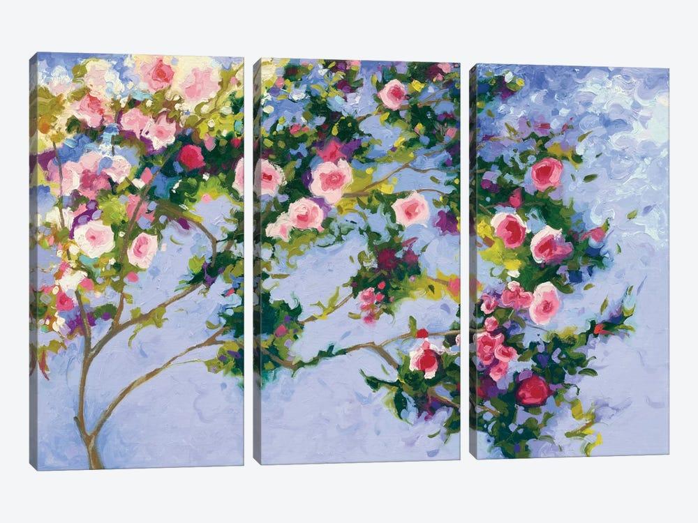 Inspiration (A Homage to Claude Monet) by Shirley Novak 3-piece Art Print