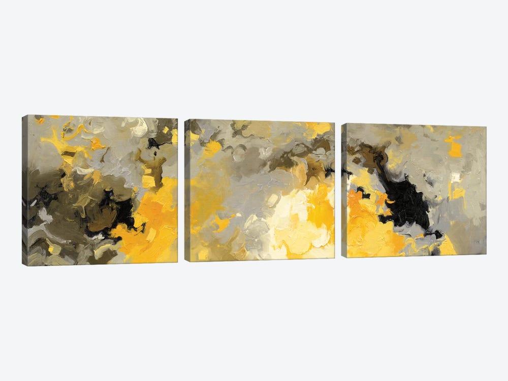 Star Cloud by Shirley Novak 3-piece Canvas Art Print
