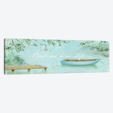 Serene Moments V  Canvas Print #WAC459} by Daphne Brissonnet Canvas Print