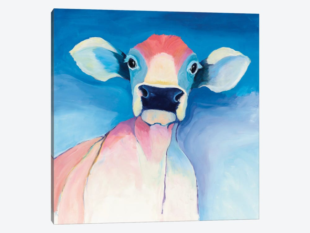 Bella Blue by Avery Tillmon 1-piece Canvas Artwork