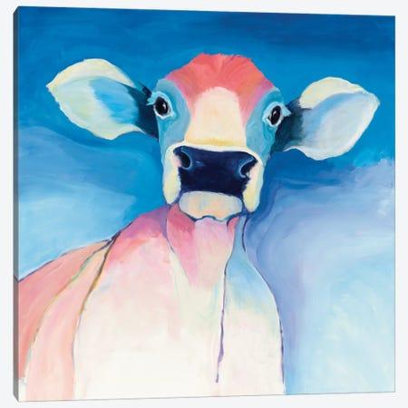Bella Blue Canvas Print #WAC4602} by Avery Tillmon Art Print