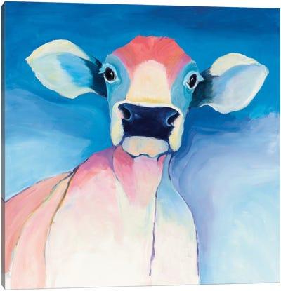 Bella Blue Canvas Art Print