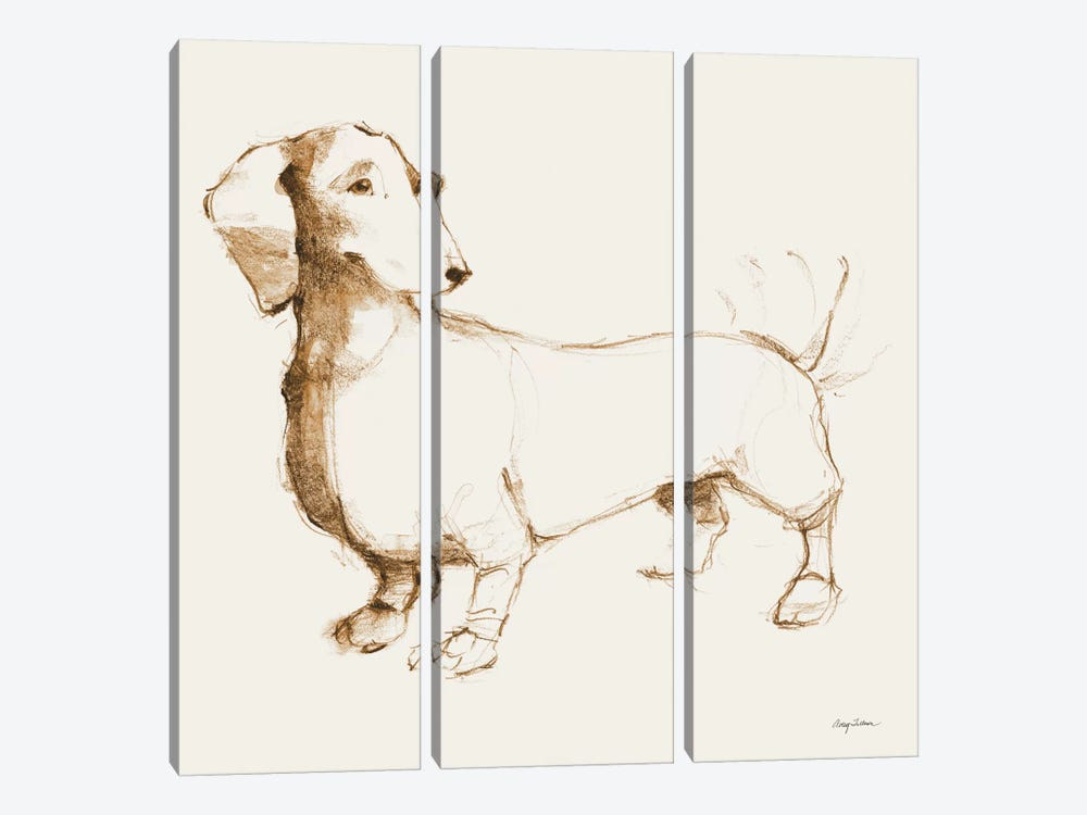 Clio's Outline 3-piece Art Print