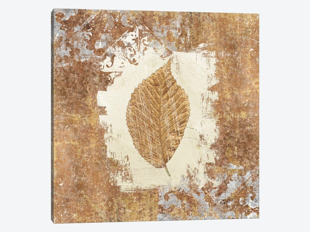 Gilded Leaf II by Avery Tillmon 1-piece Canvas Art Print