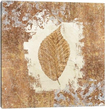 Gilded Leaf II Canvas Art Print