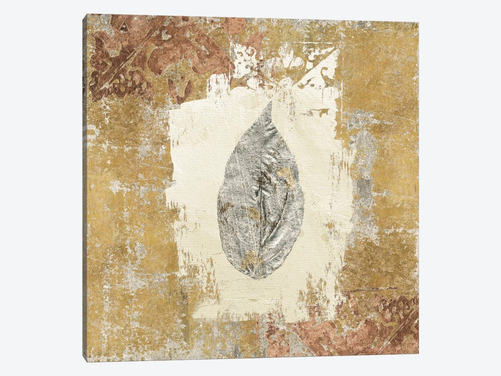 Gilded Leaf III by Avery Tillmon 1-piece Canvas Art