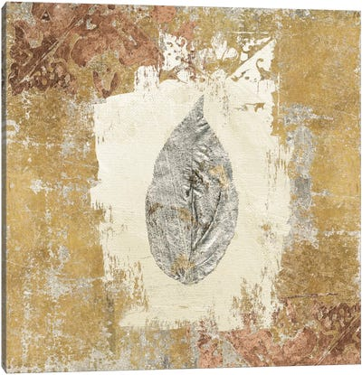 Gilded Leaf III Canvas Art Print