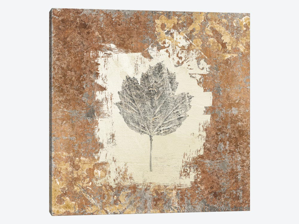Gilded Leaf V by Avery Tillmon 1-piece Canvas Print