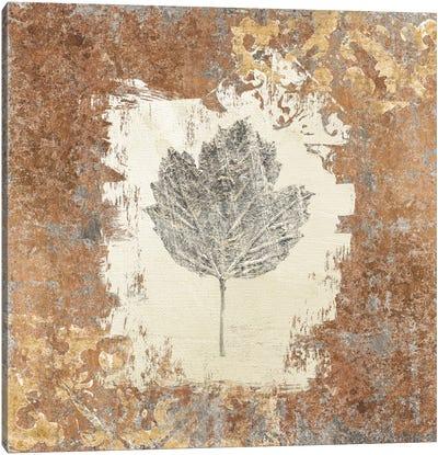 Gilded Leaf V Canvas Art Print