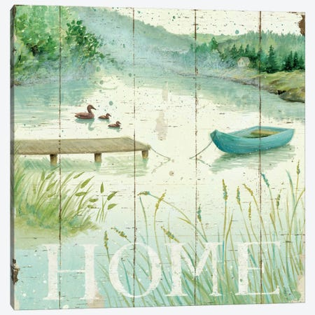Lakeside I  Canvas Print #WAC460} by Daphne Brissonnet Canvas Wall Art