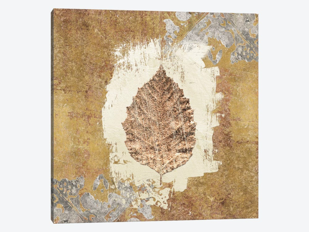 Gilded Leaf VI by Avery Tillmon 1-piece Canvas Print