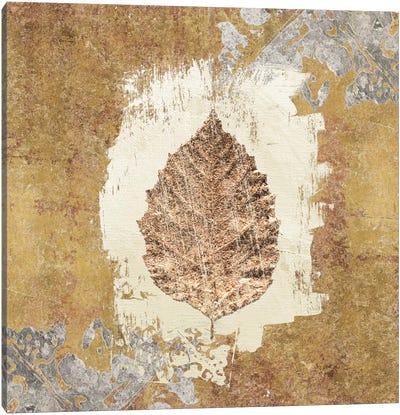 Gilded Leaf VI Canvas Art Print