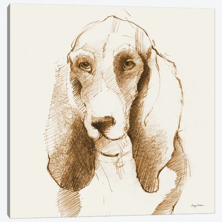 Oberon's Outline Canvas Print #WAC4613} by Avery Tillmon Canvas Art