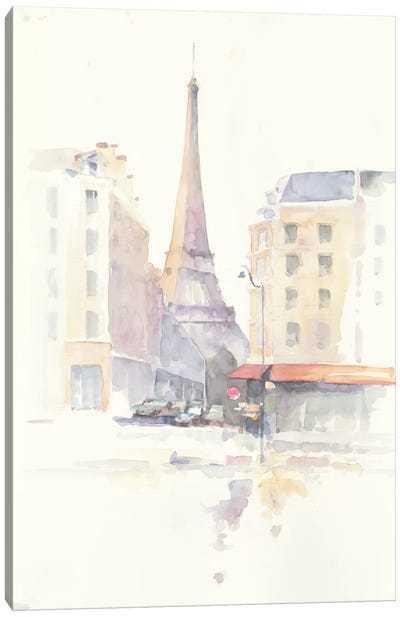 Paris Morning Canvas Art Print