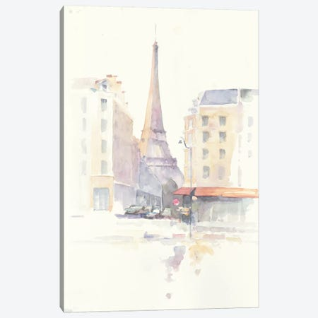 Paris Morning Canvas Print #WAC4616} by Avery Tillmon Canvas Print
