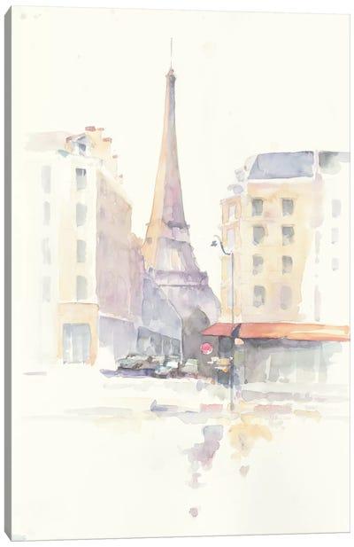 Paris Morning Canvas Art Print