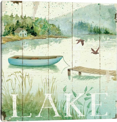 Lakeside II  by Daphne Brissonnet Canvas Art Print