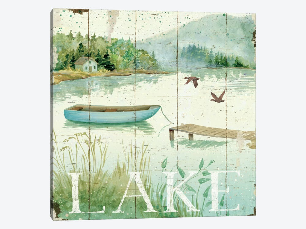 Lakeside II  by Daphne Brissonnet 1-piece Canvas Wall Art