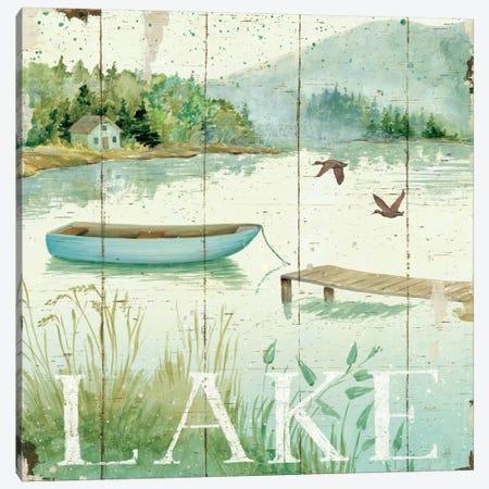 Lakeside II  Canvas Print #WAC461} by Daphne Brissonnet Canvas Art