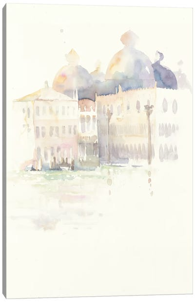 Venice Evening Canvas Art Print
