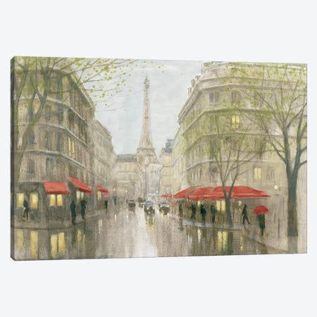 Impression Of Paris Canvas Print #WAC4622} by Myles Sullivan Canvas Print