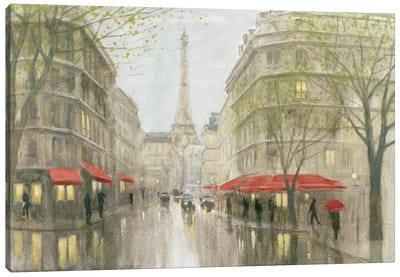 Impression Of Paris Canvas Art Print
